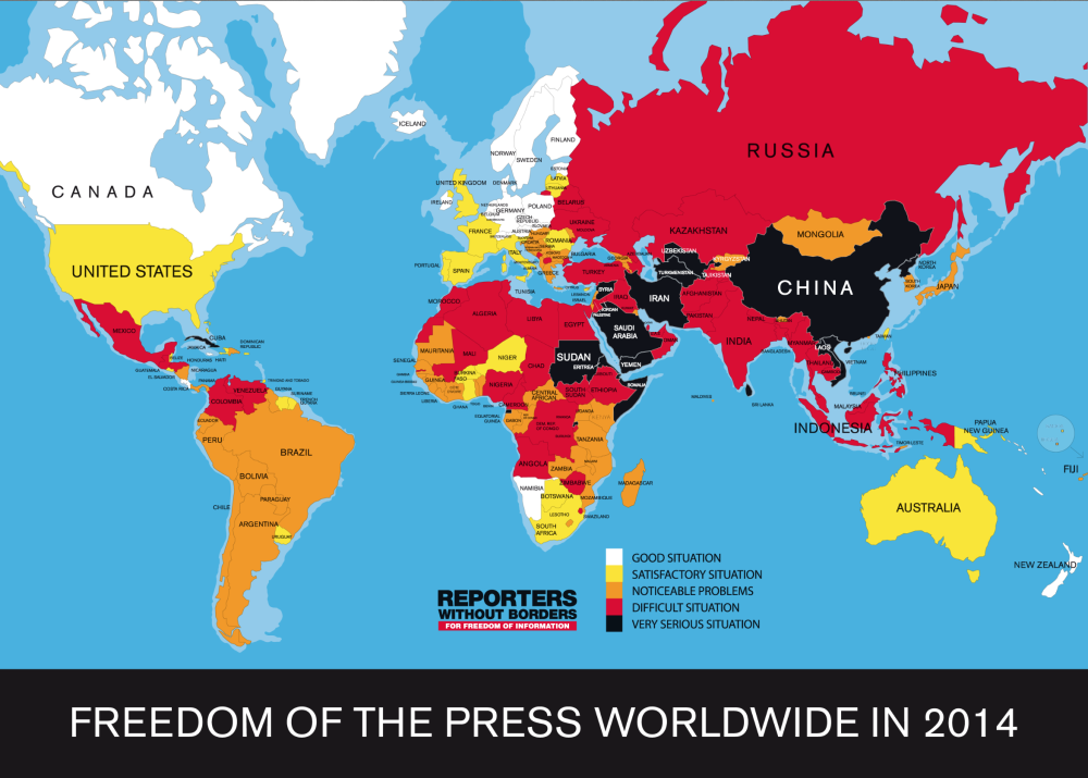 The nordic countries are on the top of world press freedom index gumiabroncs Gallery